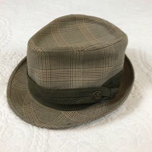 Goorin Bros Accessories - Goorin Bros Green and Tan Used Fedora